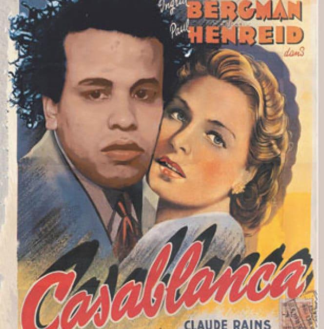 Yassine Balbzioui Casablanca, affiche parodique