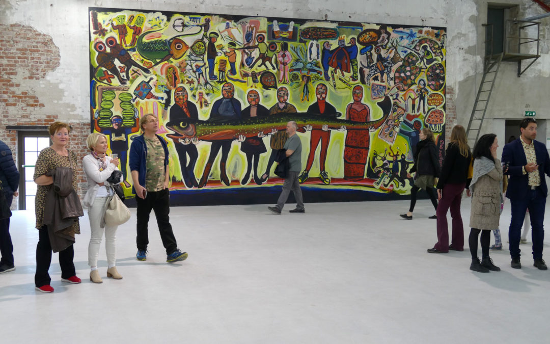 Kubatana at Vestfossen Kunstlaboratorium May 2019
